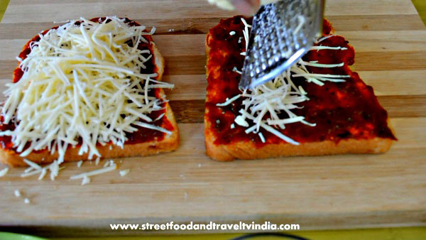 How to Cook Bread Pizza Recipe.