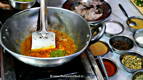 How to make Mutton Rogan Josh Recipe in Hindi.