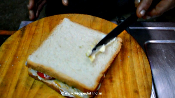 How to Cook Egg Sandwich Recipe in Hindi.