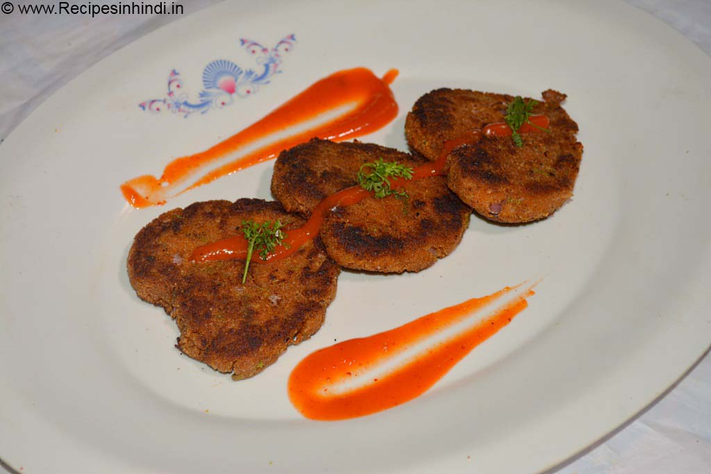 Home made Chicken Cutlet Recipe in Hindi.