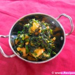मेथी केला सब्जी | Methi Kela Subzi Recipe in Hindi with step by step Pictures.