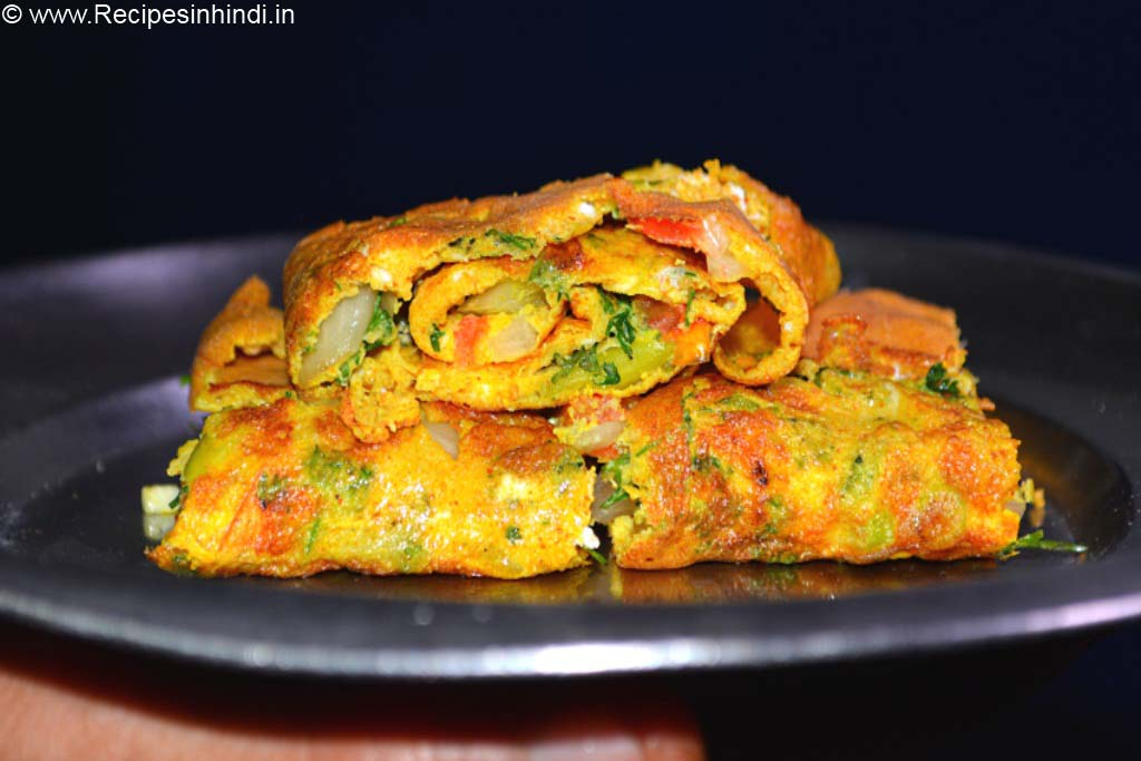 Home made Omelette Recipe in Hindi.