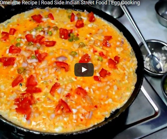 Bread Omelette. Video Recipe. Non Vegetarian Recipes. Eggs Recipes. Best Indian Road side Eateries.