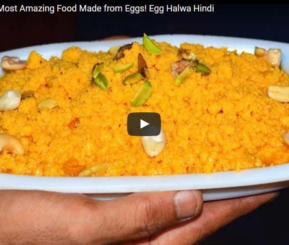 Egg Halwa Video Recipe, How to Make Egg Halwa Recipe, Best Indian Desert Recipe.