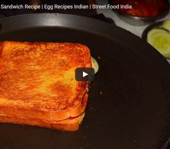 Egg Sandwich. Video Recipe in Hindi. How to Cook Egg Sandwich. Best Indian Non Vegetarian Sandwich Recipe in Hindi.