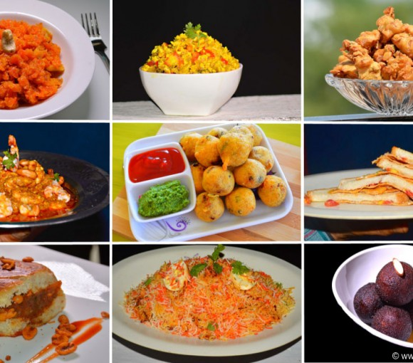 Most Popular 39 Indian Street Foods, indian veg. and non veg. recipes.