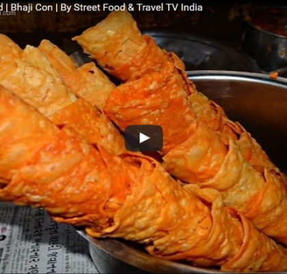 Bhaji Con. Street Food Gujarat. Street Food India.