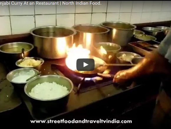 Cooking Food in Restaurant. Indian Food Video. Food Making Video.