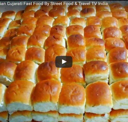 Dabeli Making. Street Food in Gujarat. Street Food India. Popular Indian Street Food.