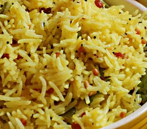 Kache Aam Ke Chawal, Pulao Recipe in Hindi.
