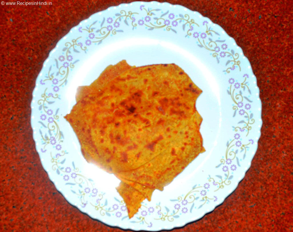 Parat Paratha Recipe in Hindi. Lachha Paratha Recipe. Parat Parantha Recipe. Indian Vegetarian Paratha Recipe.