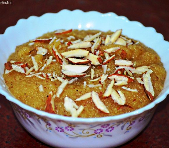 Sooji Halwa Recipe in Hindi. Rawa Halwa Recipe. Sooji ka Halva Recipe. Indian Sweet Recipe.