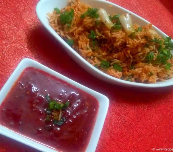 Tomato Rice Recipe in Hindi. Easy Tomato Rice Recipe. South Indian Tomato Rice Recipe.