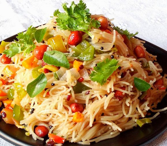 Sevai Upma Recipe in Hindi, Vermicelli Upma Recipe, Semiya Upma Recipe, Sevaiya Upma Recipe, How to Make Sevai Upma, Indian Breakfast Recipe, South Indian Cuisine.